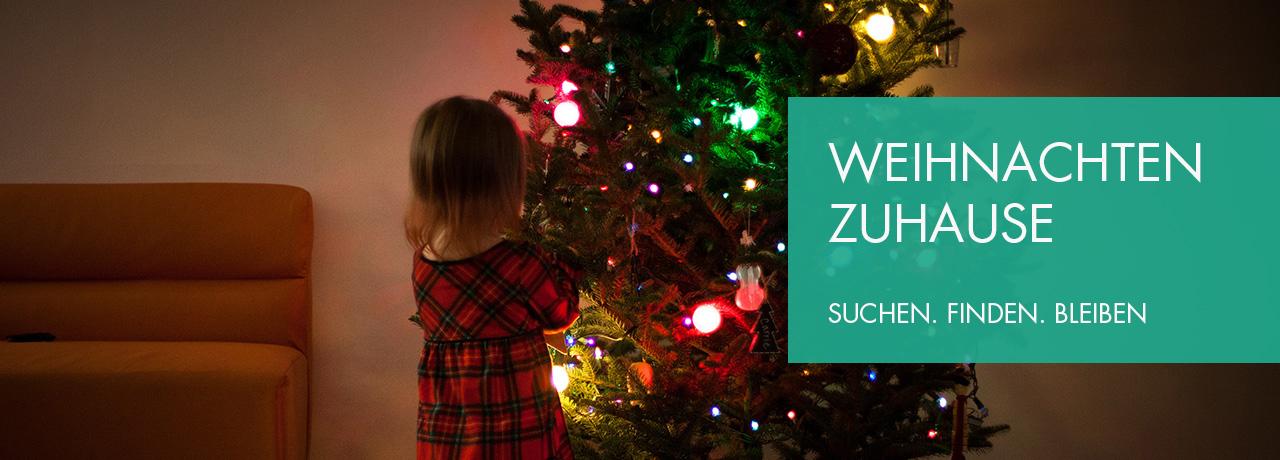 Weihnachten zu Hause SUCHEN FINDEN BLEIBEN